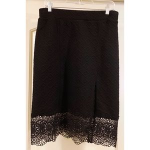 Free People quilted jersey Storyteller skirt